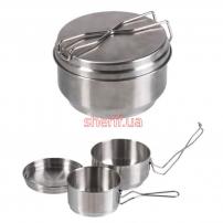 Набор посуды 2-TLG/Steel
