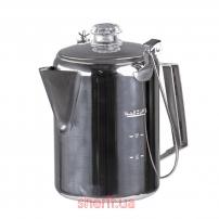 Кофейник-перколятор из нержавеющей стали (9 порций)