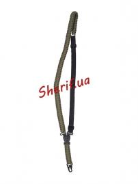 Тактический ремень MIL-TEC одноточечный паракордовый Olive