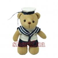 """Мишка плюшевый Navy """"Морячок"""" 20 см"""