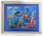 Картина бисером «С морских глубин»