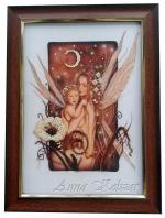 Картина бисером «Мать и дитя»