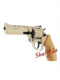 "Револьвер п/п Флобера PROFI-4.5"" (сатин/бук.) кал. 4мм-3"