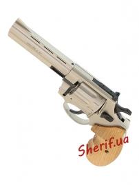 "Револьвер п/п Флобера PROFI-4.5"" (сатин/бук.) кал. 4мм-4"