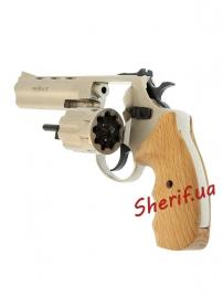 "Револьвер п/п Флобера PROFI-4.5"" (сатин/бук.) кал. 4мм-5"