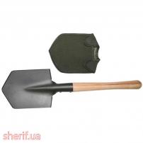 Лопатка саперная с деревяной ручкой – (Max Fuchs)
