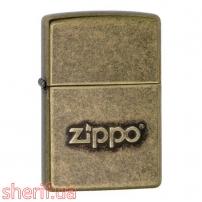 Зажигалка Zippo 201FB Zippo Stamp