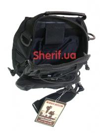 Рюкзак однолямочный Max Fuchs MOLLE Black-6