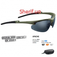 Очки Swiss Eye Apache green-4
