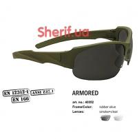 Очки Swiss Eye Armored Olive (2370.05.46)
