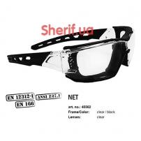 Очки Swiss Eye Net Clear black/clear