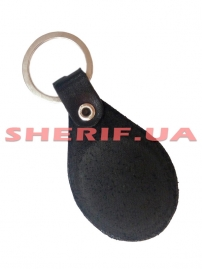 Брелок для ключей Полиция/жетон (кожа), 4056/2-3