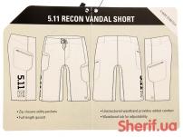 43059BB Шорты 5.11 Recon Vandal Battle Brown-5