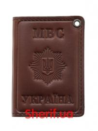 Обложка для удостоверения «МВС Україна» (книжная), 5103п