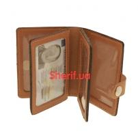 Обложка под пластиковый ID-паспорт на кнопке, 5164/2ж-4