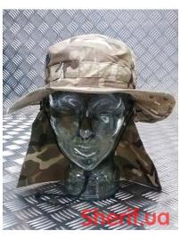 Панама британской армии с защитой шеи (оригинал) Multicam