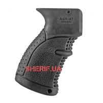 Пистолетная рукоятка прорезиненная FAB Defence AGR-47B (полимер) для АК-47-2