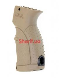 Пистолетная рукоять для АК-47-74, Вепрь, Сайга прорезиненная Tan-4