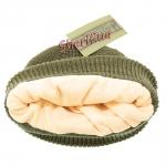 Акриловая шапка Thinsulatе Olive, 12131001-2