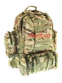 Рюкзак большой с подсумками Sivimen Multicam, 40л
