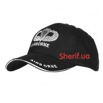 Кепка Baseball Cap Army Airborne Black
