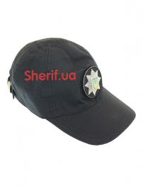 Бейсболка с кокардой «Полиция» Rip-Stop Black-3