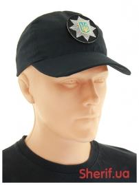 Бейсболка с кокардой «Полиция» Rip-Stop Black