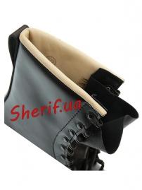 Берцы кожаные Max Fuchs Black-8