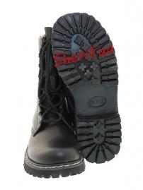 Берцы кожаные Max Fuchs Black-5