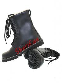 Берцы кожаные Max Fuchs Black-6