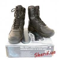 Ботинки MIL-TEC тактические 2. поколения Black, 12829002