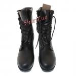Ботинки MIL-TEC тактические US кожаные на скоростных петлях Black 12807000