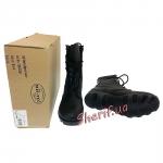 Ботинки MIL-TEC тактические US кожаные на скоростных петлях Black 12807000-3