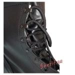 Ботинки MIL-TEC тактические US кожаные на скоростных петлях Black 12807000-4