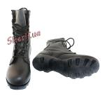 Ботинки MIL-TEC тактические US кожаные на скоростных петлях Black 12807000-7