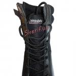 Ботинки MIL-TEC тактические кожа/кордура на молнии Black 12822000-9