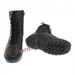 Ботинки MIL-TEC тактические кожа/кордура на молнии Black 12822000-2