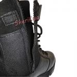 Ботинки MIL-TEC тактические кожа/кордура на молнии Black 12822000-6