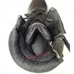 Ботинки MIL-TEC тактические кожа/кордура на молнии Black 12822000-8