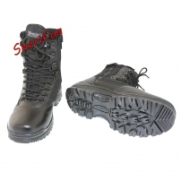 Ботинки MIL-TEC тактические на молнии YKK Black, 12822102-2
