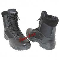 Ботинки MIL-TEC тактические на молнии YKK Black, 12822102-3