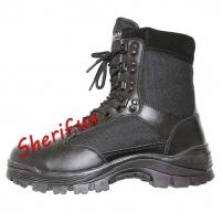 Ботинки MIL-TEC тактические на молнии YKK Black, 12822102-4