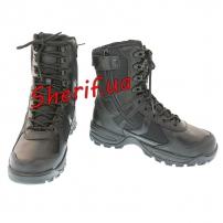 Ботинки MIL-TEC патрульные на одной молнии Black