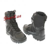 Ботинки MIL-TEC патрульные на одной молнии Black, 12822302-4