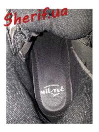 Ботинки MIL-TEC патрульные на одной молнии Black, 12822302-8
