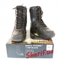 Ботинки MIL-TEC патрульные на одной молнии Black, 12822302-2