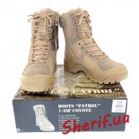 Ботинки MIL-TEC патрульные на одной молнии COYOTE, 12822305
