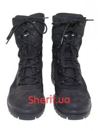 Ботинки кожаные с высокой берцой Black (модель 3)-2