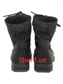 Ботинки кожаные с высокой берцой Black (модель 3)-5