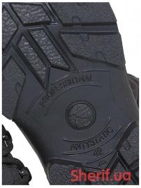 Ботинки кожаные с высокой берцой Black (модель 3)-8
